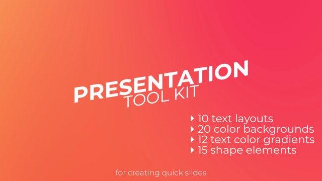Presentation ToolKit: Premiere Pro Presets
