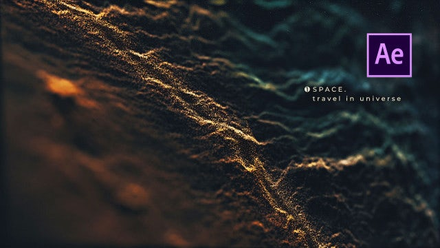 Deep Space Titles: After Effects Templates