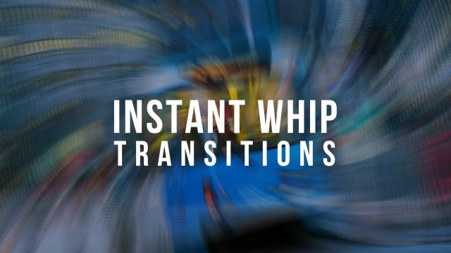Instant Whip Transitions: Premiere Pro Templates