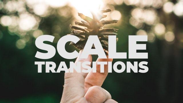 Scale Transitions: Premiere Pro Presets