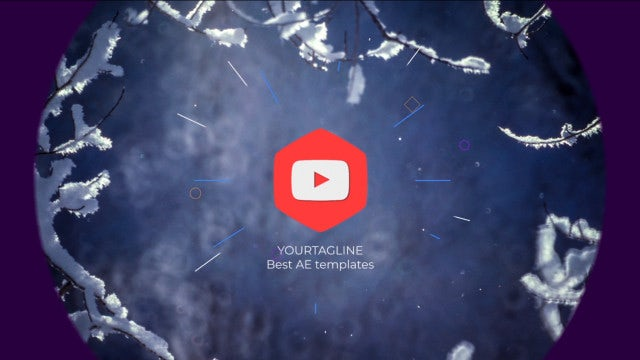 Vortex Logo Reveal: After Effects Templates