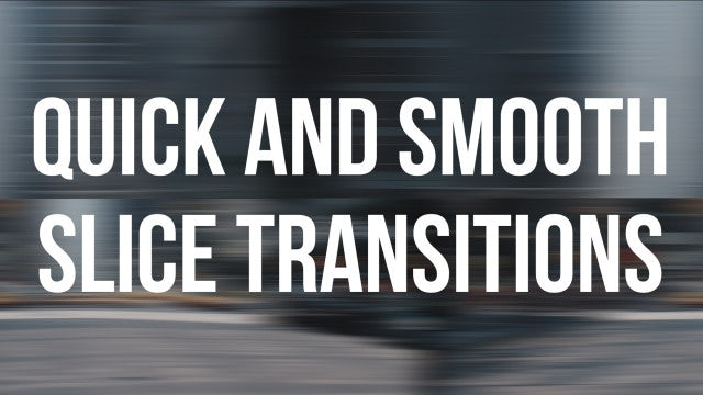 Quick & Smooth Slice Transitions: Premiere Pro Templates