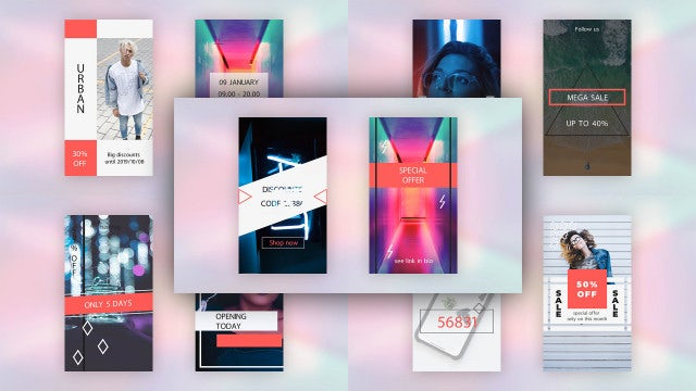 Instagram Stories Pack V.3: After Effects Templates