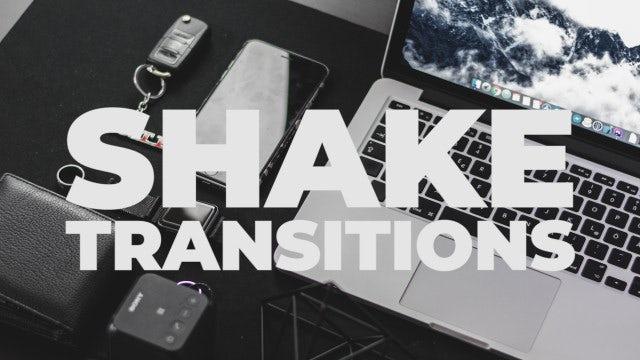 Shake Transitions: Premiere Pro Presets