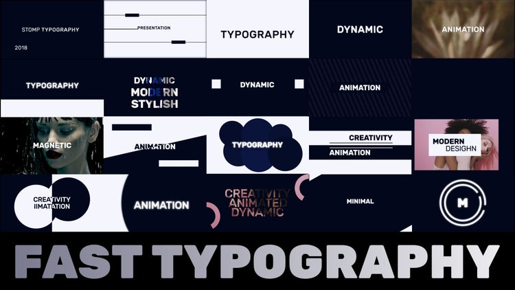 Fast Typography: Premiere Pro Templates