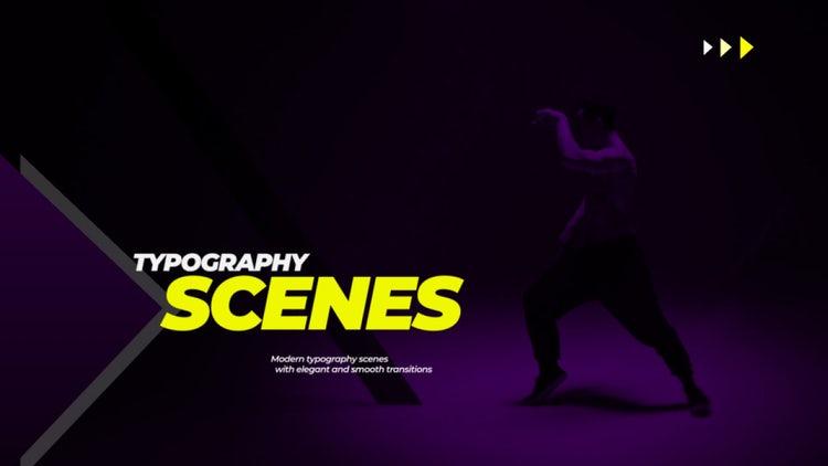 Stylish Typo Scenes: Premiere Pro Templates