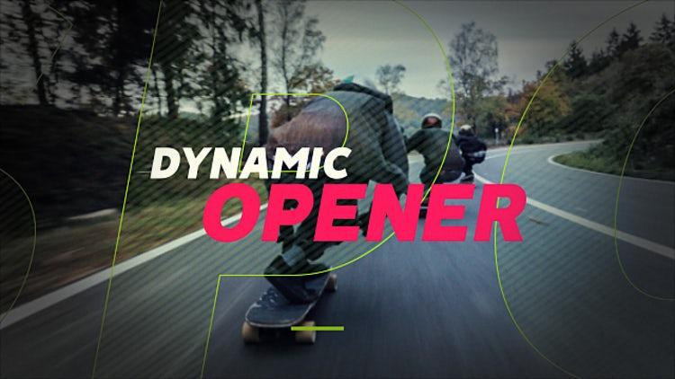 Dynamic Opener: Premiere Pro Templates