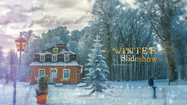 Winter Slideshow: After Effects Templates
