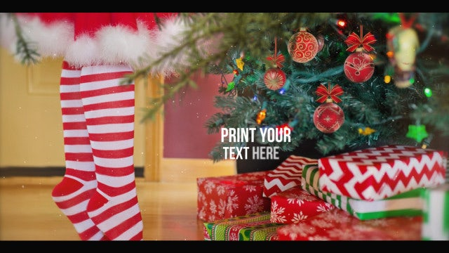 Xmas New Year Slideshow: After Effects Templates