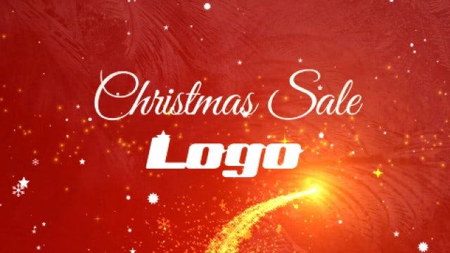 Christmas Sale Promo: After Effects Templates