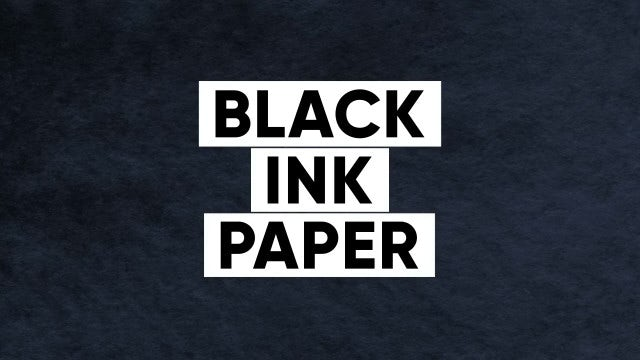 40 Textures - Black Ink Paper: Stock Motion Graphics