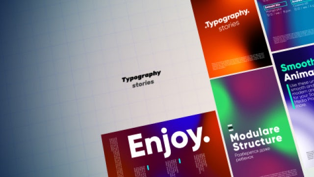Typography Stories: After Effects Templates