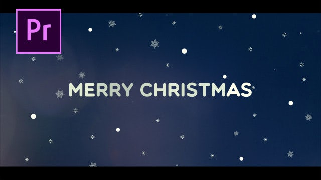 Christmas Titles: Motion Graphics Templates