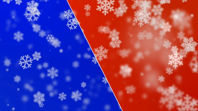 2 Winter Backgrounds 4K Loop: Stock Motion Graphics