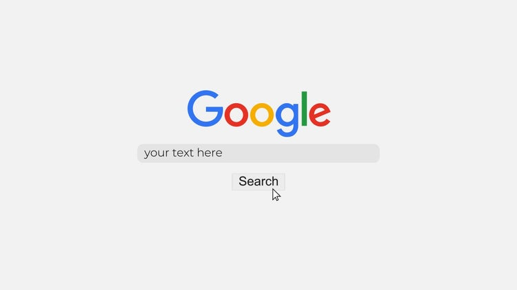 google search logo after effects templates motion array