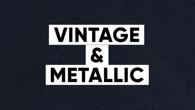 50 Textures -  Vintage & Metallic Textures: Stock Motion Graphics