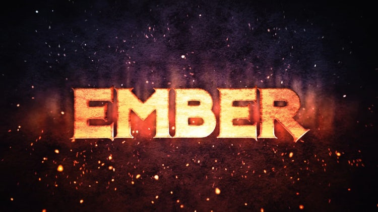 Ember Logo Reveal: After Effects Templates