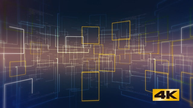 Animated Square Background: Stock Motion Graphics