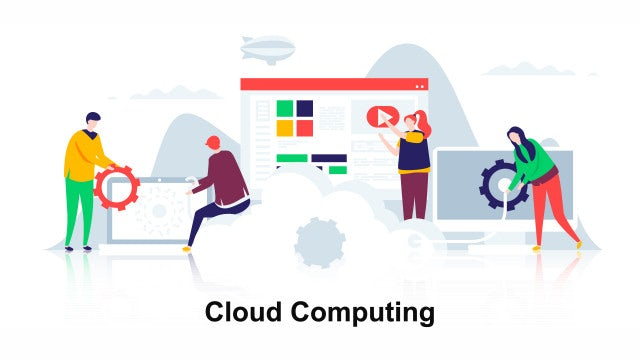 Cloud Computing - Flat Concept: After Effects Templates