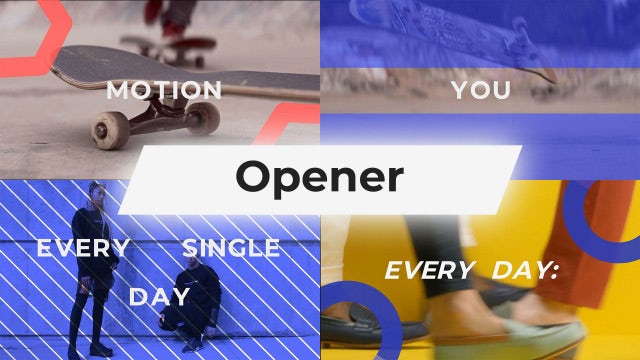 Opener: After Effects Templates