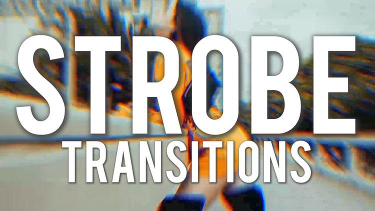 Strobe Transitions: Premiere Pro Templates