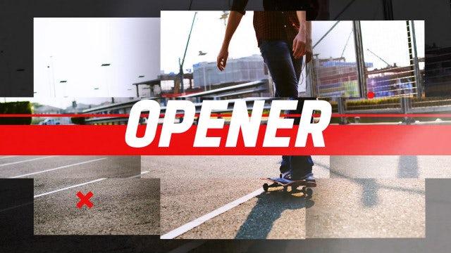 Street Beat Opener: Premiere Pro Templates