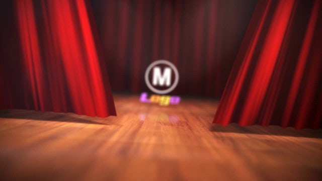 Theatre Curtains Reveal: After Effects Templates