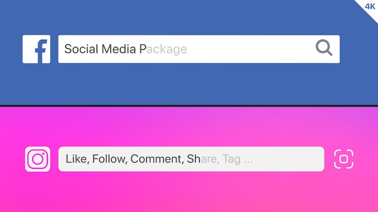 Social Media Package: After Effects Templates