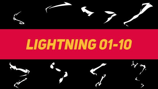 Liquid Elements Lightning 01-10: Motion Graphics Templates