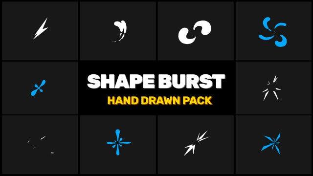 Burst Elements Pack: Stock Motion Graphics