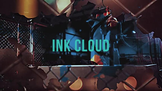 Grunge: Ink Cloud: Transitions