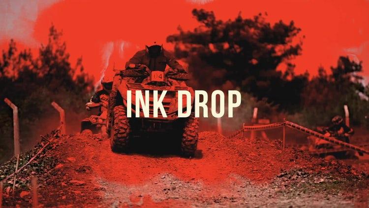 Grunge: Ink Drop: Transitions