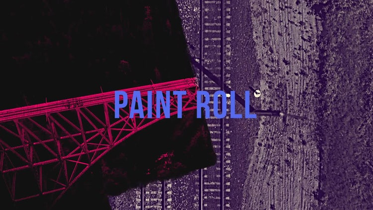 Grunge: Paint Roll: Transitions