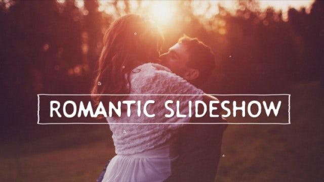 Romantic Slideshow: Premiere Pro Templates