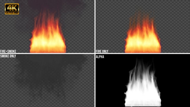 Fire, Flames And Smoke Pack: Stock Motion Graphics
