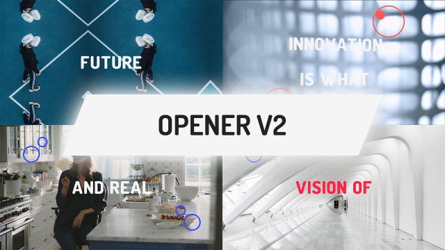 Opener V2: After Effects Templates