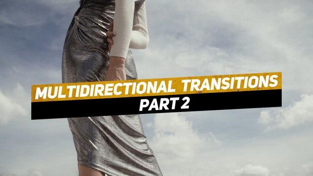Multidirectional Transitions Part 2: Premiere Pro Templates