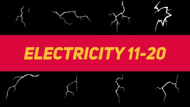 Liquid Elements Electricity 11-20: Motion Graphics Templates
