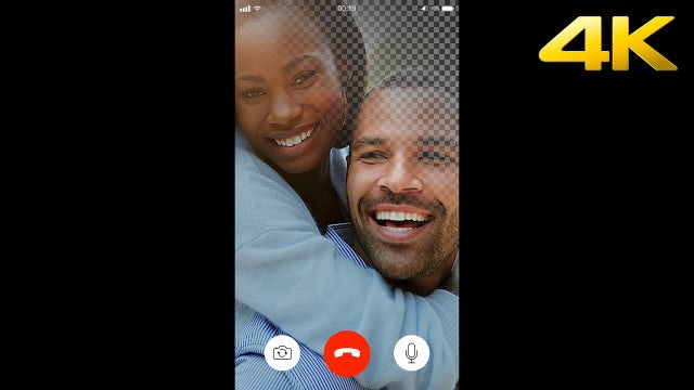 Video Calling Screen Overlay: Stock Motion Graphics