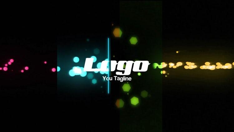 Glow Particles Logo Reveal: Premiere Pro Templates