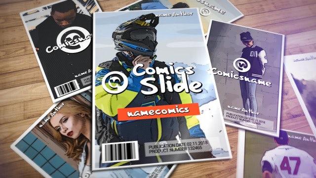 Comics Slide: After Effects Templates