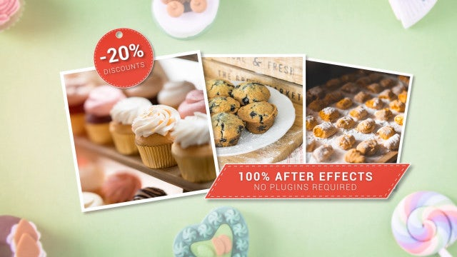 Bakery Slideshow: After Effects Templates