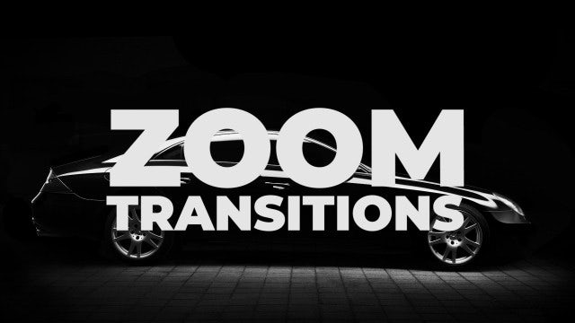 Zoom Transitions: Premiere Pro Presets