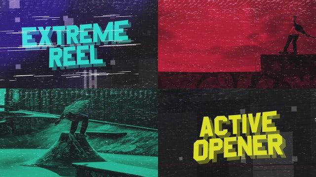 Sport Extreme Promo: Premiere Pro Templates