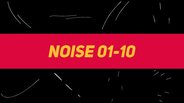 Liquid Elements Noise 01-10: Motion Graphics Templates