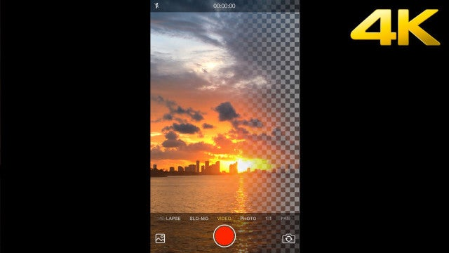 Phone Video Recording Screen: Stock Motion Graphics