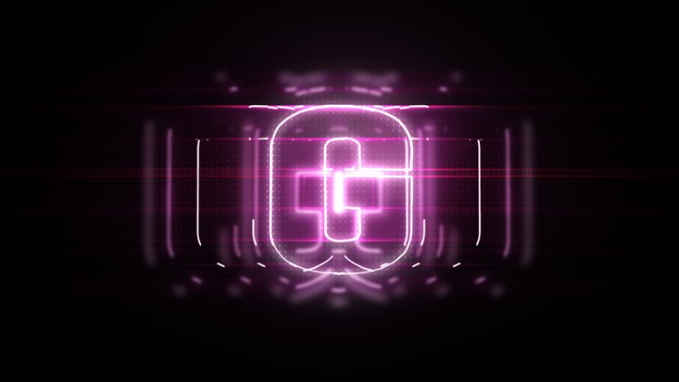 Glitch Hi-Tech Logo: After Effects Templates
