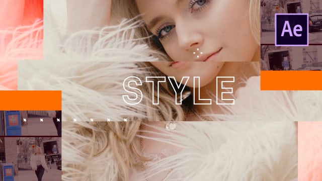 Fashion Opener: After Effects Templates