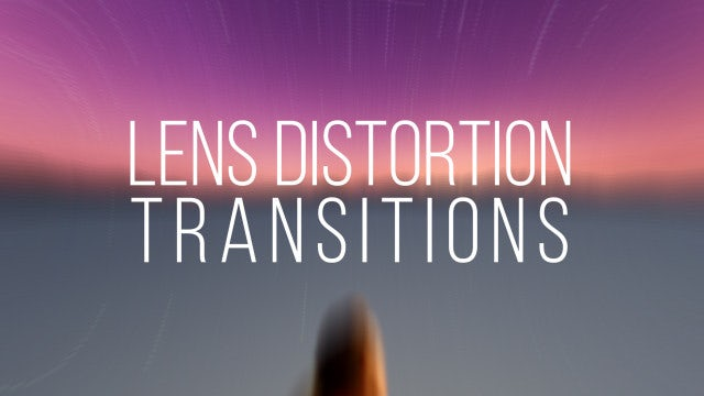 Lens Distortion Transitions: Premiere Pro Templates