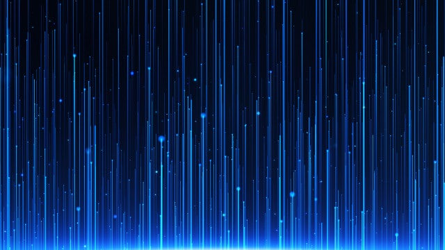 Blue Light Rays Background: Stock Motion Graphics
